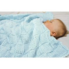 Free Baby Basketweave Blanket Knit Pattern