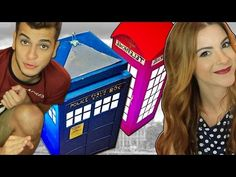 DIY:: London Cabine ♥Tardis (Dr.Who) ♥Luminárias de Papel com Victor Lamoglia - YouTube