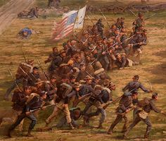 The Battle of Gettysburg- the Cyclorama