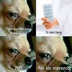 Pastillas para la depresión #memesgraciosos