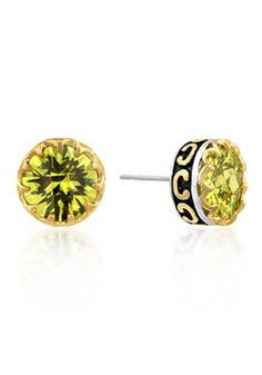 Kate Bissett 8 TCW Cubic Zirconia Stud Earrings