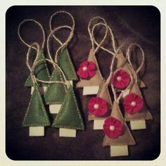 Christmas decoration... never too soon #felt #diy