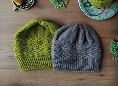 The inspiration for this hat couldn't be simpler - I needed a hat to match my wood-walking coat! My local woodland park is called Brede High Woods, hence the name.It is a very simple pattern which knits up quickly. Just mind your tension on the patterned part of the hat! #CrochetPatternsForMen
