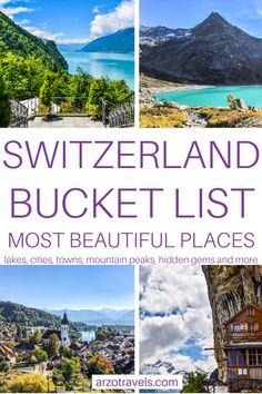 Travel Through Europe, Europe Travel Guide, Travel Around, Travel Guides, Switzerland Itinerary, Places In Switzerland, Places In Europe, Places To Travel, Travel Destinations