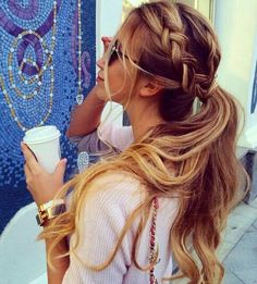 Søtt hår