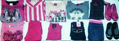 All New w tags sz 6.. 11 pc Youth Girl with Black or Pink Shoes & clothing lot  #AvivaGirlParisBluesBhpOnestepUp #DressyEverydayHoliday