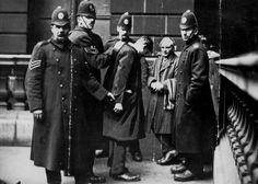David Kirkwood is detained by police during the Battle of George Square in Glasgow. London Pictures, London Photos, Cozy Mysteries, Agatha Christie, Police Chief, Police Officer, Police Cars, The 39 Steps, General Strike