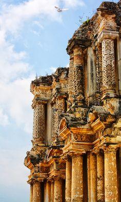 Antigua Guatemala by Francisco Matute, via Behance