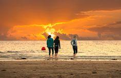 Bantham Beach - Devon, England.