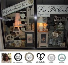 Littlebit kind of proud of my shop <3 #LaPéCule #Stockist #AnnieSloanChalkPaint™ in Hardinxveld-Giessendam, Zuid-Holland, NL