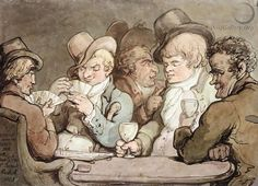 _Characters Better Known Than Trusted - Thomas Rowlandson