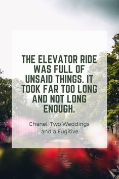 Get more of the Chanel gang in Two Weddings and a Fugitive, Book 4 in the Chanel Series. Discovery News, Second Weddings, Sign I, Announcement, Thankful, Chanel, How To Get, Cards Against Humanity, Joy