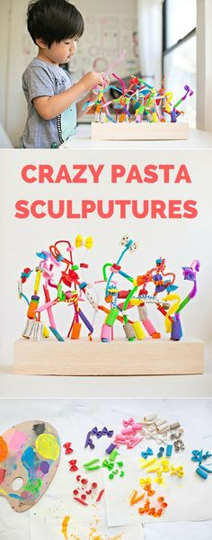 Crazy Pasta Sculptures