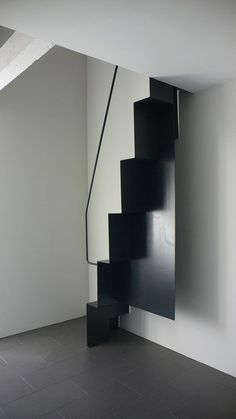 Trendy Ideas For Loft Stairs Design Architecture Metal Stairs, Attic Stairs, House Stairs, Modern Staircase, Staircase Design, Staircase Ideas, Spiral Staircase, Stairs Architecture, Architecture Design