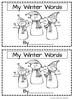Classroom Freebies Too: Winter Vocabulary