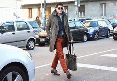 Tommy Ton Street Style: Milão « Gossip Boy