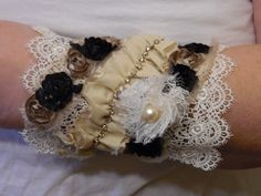 Gypsy Cowgirl Chic Shabby Roses Vintage Lace by gypsycowgirlchic  save 25% use code 25off at checkout!