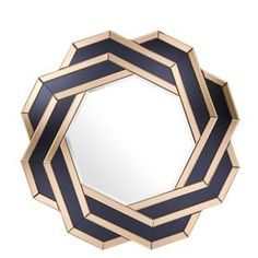 Buy Eichholtz Mulini Mirror online with Houseology's Price Promise. Full Eichholtz collection with UK & International shipping. Octagon Mirror, Round Wall Mirror, Wall Mounted Mirror, Mirror Art, Mirror Glass, Mirror Hanging, Sunburst Mirror, Mirror Ideas, Unique Mirrors