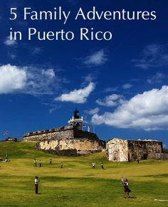 5 ways to see Puerto Rico, 1 for every family. Which would you choose?