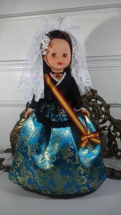 Spanish Costume, Nancy Doll, Miss Piggy, Moda Boho, Baby Dolls, Diy And Crafts, Folklore, Costumes, My Love