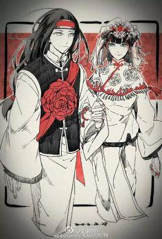 Tenten and Hyuuga Neji