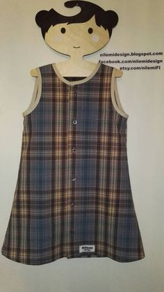 Carol Countrygirl dress for recycled checkered