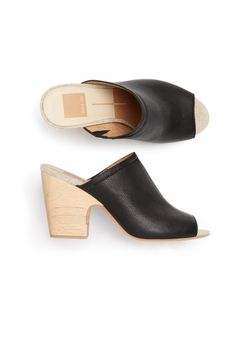 Stitch Fix Spring Shoes: Peep-Toe Mules