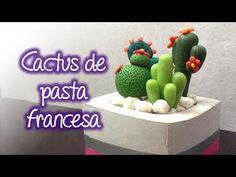 How To Make Cactus Cake Toppers - YouTube