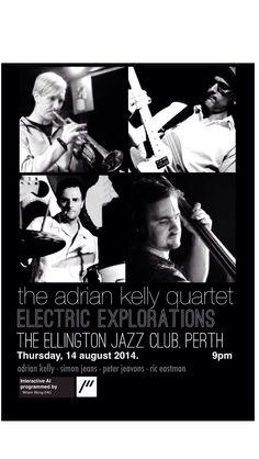 August 14, 2014 at The Ellington Jazz Club, Perth