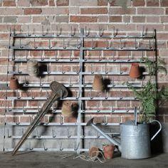 French Galvanised Wall Mounted Bottle Dryer  // #homeware #vintage #vintagehome #antiques #homedecor #interiordesign
