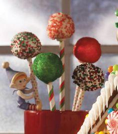 Yummy Christmas cake pops from @Wilton Cake Decorating Cake Decorating!
