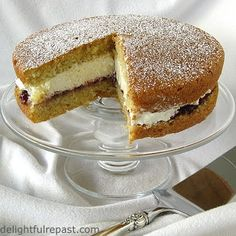 Delightful Repast: Victoria Sponge - An English Teatime Classic