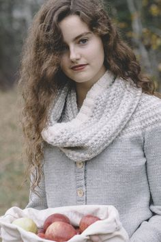 harriet cowl / from slip stitches, a collection by carrie bostick hoge / in quince & co. osprey