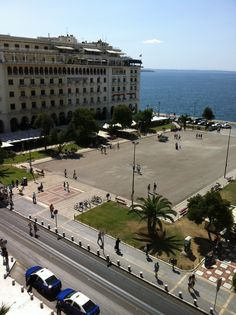 Aristotelous Square, Thessaloniki Travel Around The World, Around The Worlds, Cultural Capital, Street Photo, Greece Thessaloniki, Macedonia, Places To Visit, Street View, Europe