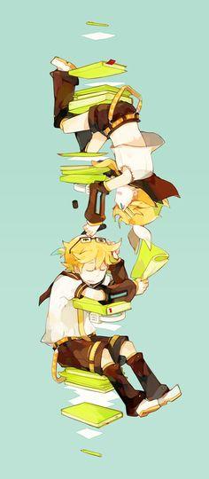 > Vocaloid < Rin & Len Kagamine