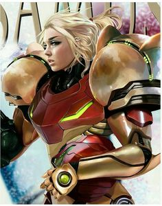 SAMUS ARAN FAN ART