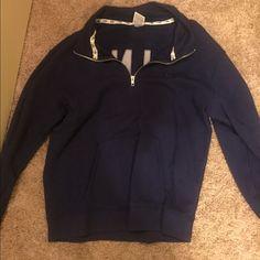 Navy Blue half zip VS never worn before, in great condition Victoria's Secret Other