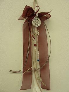 Γούρι - Lucky charm Christmas Fun, Xmas, Lucky Charm, Plant Hanger, Charms, Create, Handmade, Accessories, Yule