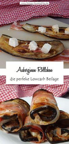So machst du Keto & Lowcarb Auberginen Cannelloni #Keto #Lowcarb #AuberginenCannelloni! Eggplants, Browning, Easy Meals