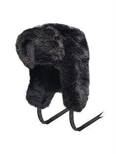 Authentic Nobis Sugar Lips Russian Fur HAT (Black) e053540dabdb