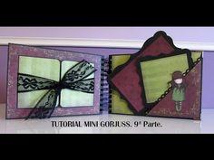 Tutorial mini Gorjuss. 9ª Parte. - YouTube