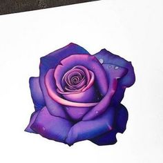 Great Cost-Free purple rose drawing Tips In this particular class, we can have a look at the way to attract any increased having pastels. Colorful Rose Tattoos, Purple Flower Tattoos, Coloured Rose Tattoo, Rose Tattoo Cover Up, Rose Drawing Tattoo, Rose Zeichnung Tattoo, Lila Tattoos, Purple Roses Wallpaper, Tatuagem Old Scholl