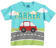 Toddler Shirt Personalized Boys Name Little by SimplySublimeBaby, $24.95