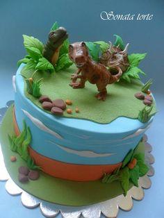 Dinosaur Cake | Sonata Torte