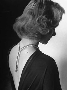 Barbara Truly Wearing a Reversible Necklace