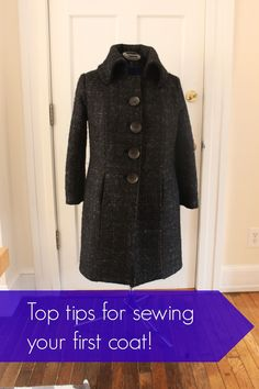 Tips for making your first coat