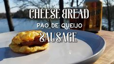 Cheese Bread & Sausage - Pão de Queijo cooked outdoor in a Dutch Oven. Outdoor cooking! #dutchoven