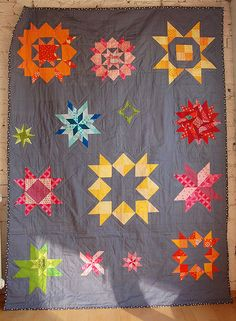 Beautiful and unique quilt!