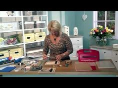 Craft Dies by Sue Wilson -- Tutorial Video - Florette Frame Card for Creative Expressions - YouTube