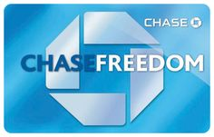 awesome Chase Freedom Card